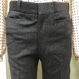 Vintage Charcoal Grey Cigarette Pants SIZE Small